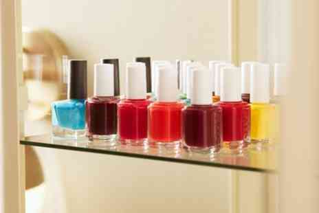 Imanis Beauty Bar - Gel Manicure, Pedicure or Both - Save 36%