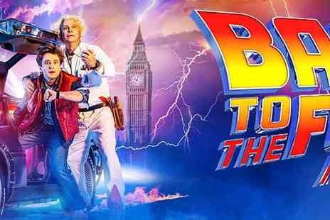 Encore Tickets - Back to the Future Musical arrives in Summer 2021 - Save 0%