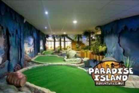 Paradise Island Adventure Golf - 18 Hole Rounds of Adventure Golf - Save 57%