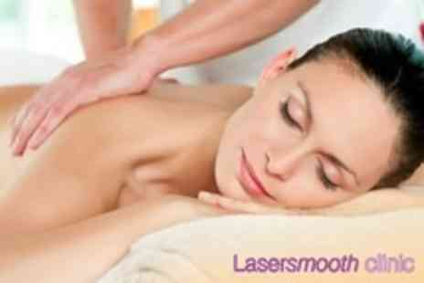 Lasersmooth Clinic - One Hour Full Body Swedish or Aromatherapy Massage - Save 0%
