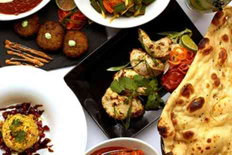 Laguna Tandoori Restaurant - Two or Three Course Meal with Sides and Glass of Wine - Save 51%