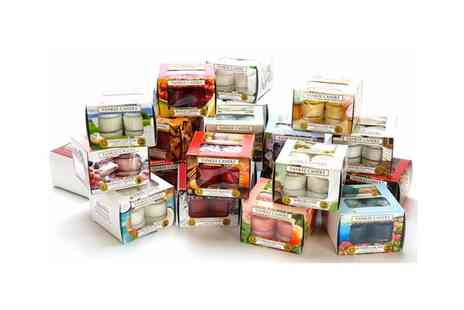 Yankee Bundles - 5 boxes of yankee candle tealights - Save 45%