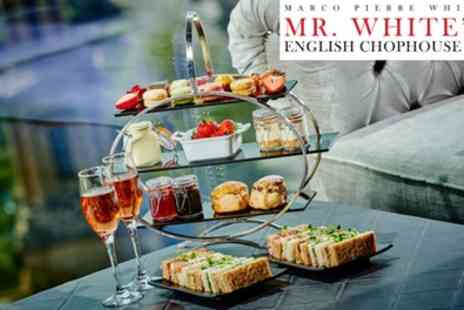 Mr Whites English Chophouse - Afternoon Tea with Optional Prosecco for Two - Save 32%