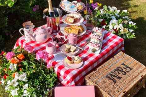 Piglets Pantry - Classic or Strawberry Afternoon Tea Box Delivery - Save 37%