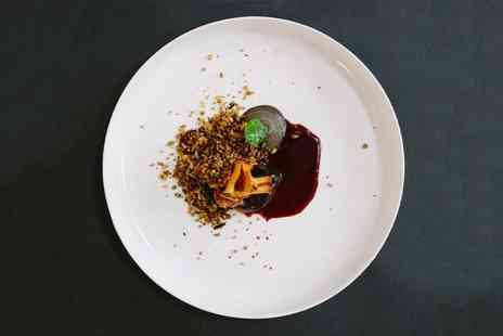 12:51 by Chef James Cochran - Five course tasting menu with bubbly for two people - Save 0%