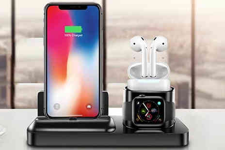 Bag a Bargain - 3 in 1 iPhone Airpods and Apple Watch Charging Station - Save 67%