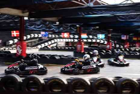 Cannon Raceway - 50 Lap Karting Experience with Membership for Up to Four - Save 30%