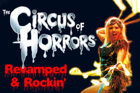 The Circus of Horrors - Spook up your nights out with a ticket - Save 40%