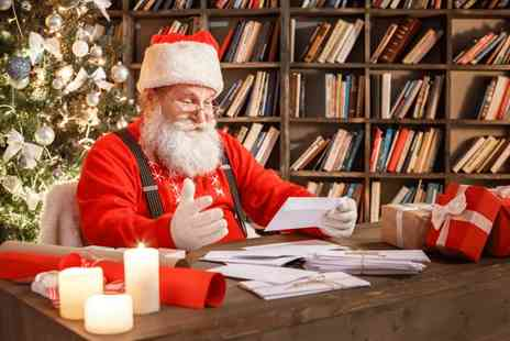 Universal Star Listing - Personalised letter from Santa - Save 50%