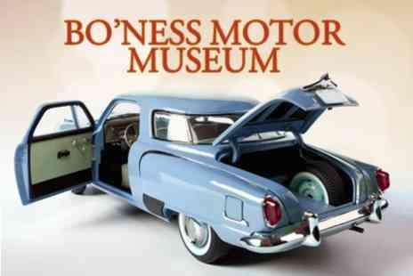 Boness Motor Museum - Family Trip to  Museum Plus Refreshments - Save 54%