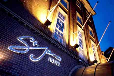 St James Hotel - A Nottingham stay with breakfast, a glass of Prosecco each and late checkout - Save 56%