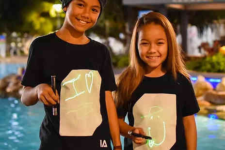 Bag a Bargain - Kids or Adults Interactive Glow In The Dark Shirt - Save 70%