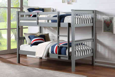 Ideal Furniture - Oxford wooden bunk bed - Save 0%