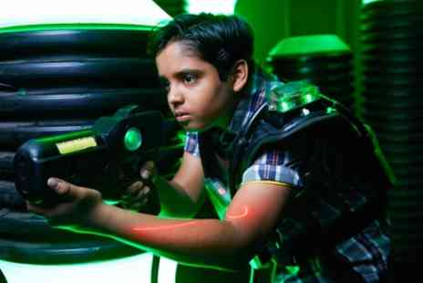 Laser Quest - Two Games of Laser Tag for Up to Six - Save 45%