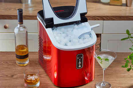 CJ Offers - Cooks Professional ice making machine - Save 44%