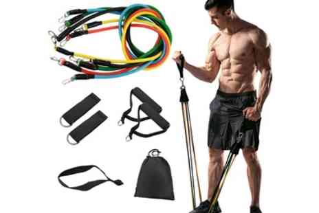 Groupon Goods Global GmbH - Apachie Resistance Band Set - Save 0%