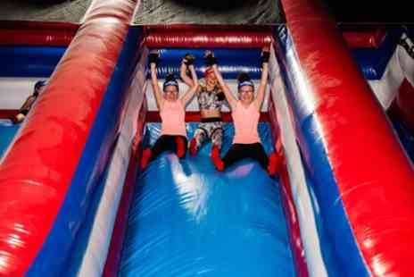 Ninja Warrior Uk Wigan - Entry to Adventure and Inflatable Park for Up to Four - Save 21%