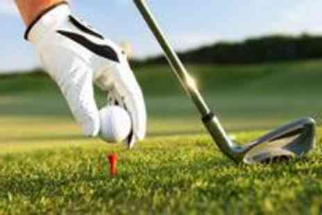 Moss Valley Golf Club - Round of golf and food for two people - Save 65%