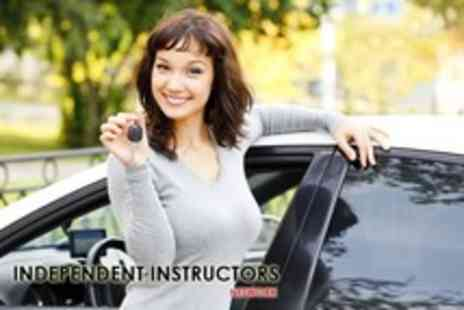 Independent Instructors Network - Three hrs of driving lessons for 5hrs plus test prep & theory practice - Save 72%