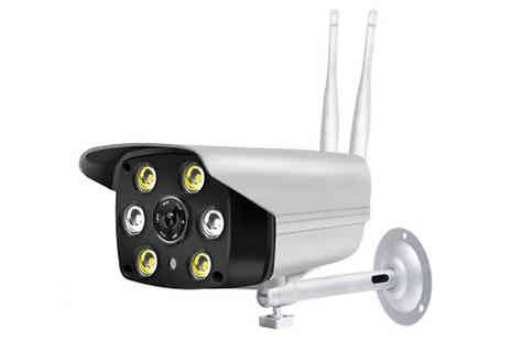 Bag A Bargain - Waterproof Wireless Night Vision Security Camera - Save 72%