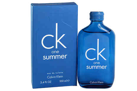 Fragrance and Cosmetics - Calvin Klein CK One Summer 100ml EDT - Save 43%