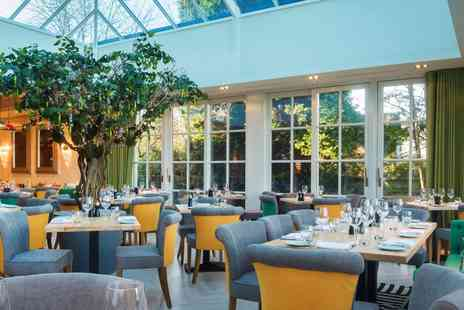 Alderley Edge Hotel - AA Rosette meal & bubbly for 2 - Save 35%
