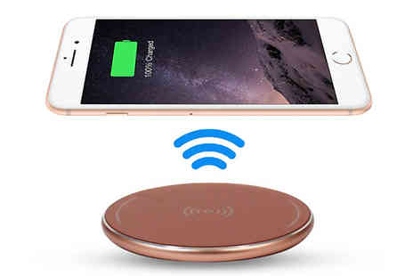 Ebeez - Universal Portable Wireless Charger Compatible With iPhone X - Save 61%