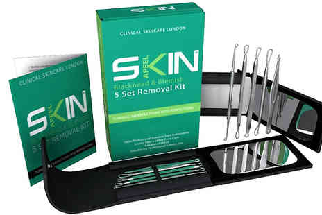 Forever Cosmetics - Skinapeel 5 Piece Blackhead and Blemish Removal Kit - Save 83%