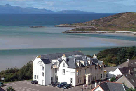 The Morar Hotel - A Morar, Scottish Highlands stay for two with three-course dinner, breakfast - Save 51%