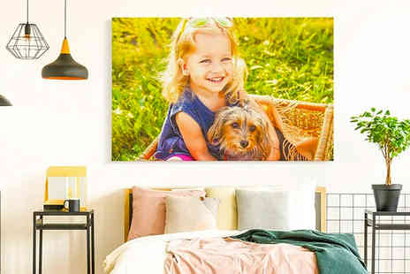 Printerpix - Personalised photo canvas print - Save 0%