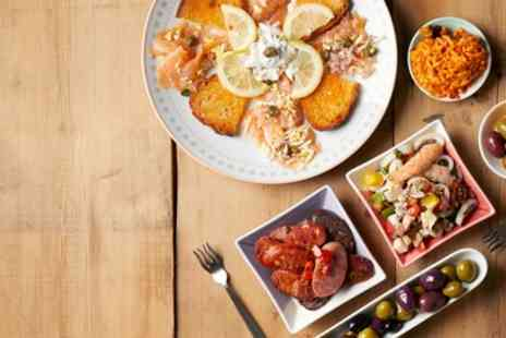 El Molino - Tapas or Meat Platter to Share Between Pairs with Glass of Wine - Save 19%