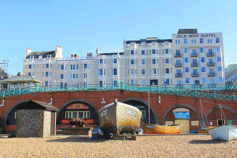 The Old Ship Brighton - A Brighton hotel stay for two people with a daily breakfast - Save 39%