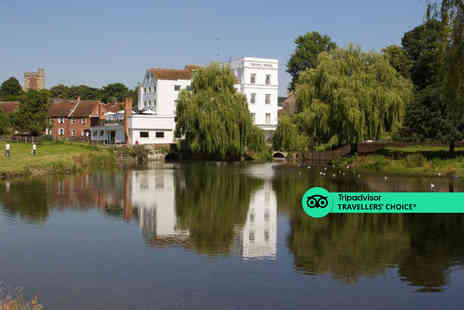 The Mill Hotel - A Sudbury, Suffolk stay for two with breakfast - Save 32%