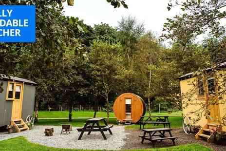 The Hamlet Samlesbury Hall - Luxe Shepherd Hut Stay For 4 - Save 55%