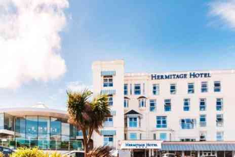 The Hermitage Hotel Bournemouth - Double or Twin Room for 2 with Breakfast - Save 36%