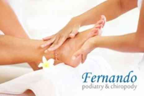 Fernando Podiatry - One Hour Chiropody Treatment With Nail Care - Save 60%
