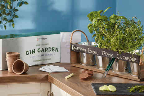 CJ Offers - Thompson & Morgan Gin garden gift set - Save 50%
