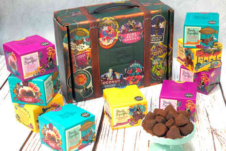 Monty Bojangles - Three flavour chocolate truffle trunk - Save 0%