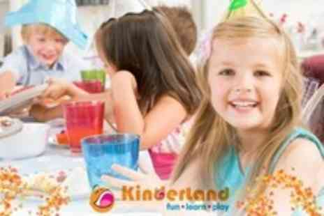 Kinderland - Childrens Party For Ten With Buffet, Drinks and Appearance - Save 60%