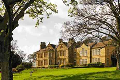 Britannia Hollins Hall Hotel And Country Club - One Night Stay for Two with Option for Dinner - Save 0%