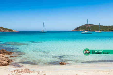 Weekender Breaks - A Corsica stay with breakfast and return flights - Save 30%