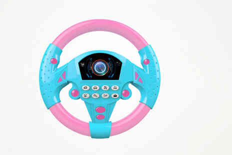 Topgoodchain - Learn and Play musical steering wheel toy - Save 0%