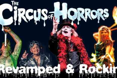 The Circus of Horrors - One ticket on 27 To 31 October - Save 33%