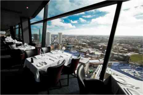 Marco Pierre White Steakhouse Bar & Grill - Panoramic Views Two Course Meal for Two - Save 0%