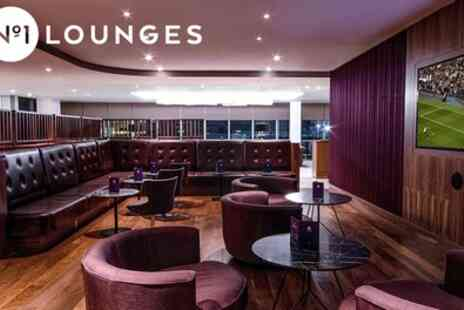 No1 Lounges - Airport Lounge Entry or Champagne Package - Save 23%