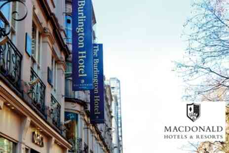Macdonald Hotels - Traditional or Festive Afternoon Tea for Two or Four - Save 33%