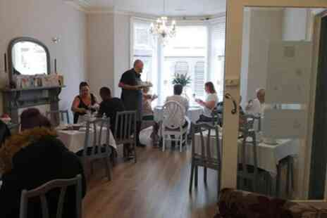 Bradburys of Blackpool - Traditional or Prosecco Afternoon Tea for Two or Four - Save 0%