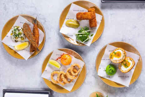 The Oyster Club - Food spend - Save 38%
