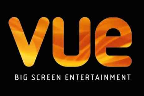 Vue - Two or Five Cinema Tickets - Save 0%