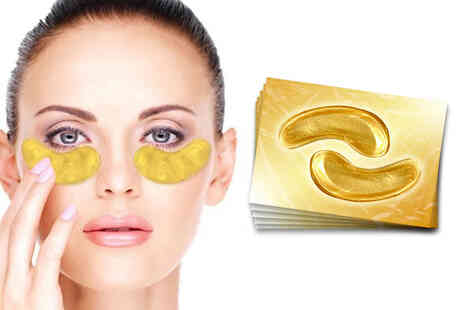 Forever Cosmetics - Five pairs of gold collagen eye masks - Save 0%